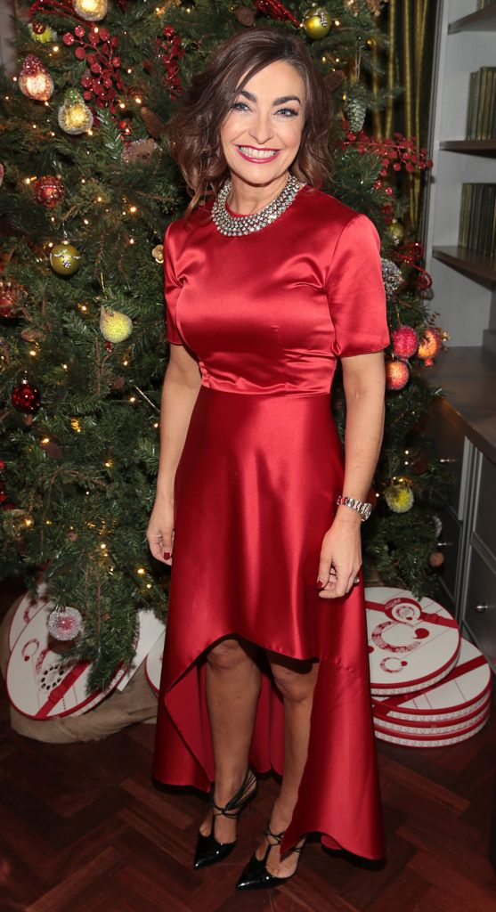 Oonagh O Hagan  pictured at the Xpose Meaghers Pharmacy Festive Beauty Banquet at the Dylan Hotel ,Dublin. Picture:Brian McEvoy