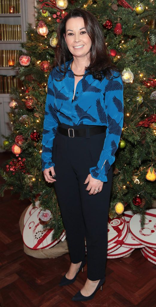 Sharon Griffin   pictured at the Xpose Meaghers Pharmacy Festive Beauty Banquet at the Dylan Hotel ,Dublin. Picture:Brian McEvoy