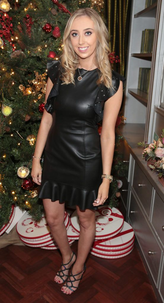Ellen Leonard  pictured at the Xpose Meaghers Pharmacy Festive Beauty Banquet at the Dylan Hotel ,Dublin. Picture:Brian McEvoy