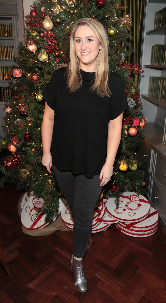 Andrea Kissane   pictured at the Xpose Meaghers Pharmacy Festive Beauty Banquet at the Dylan Hotel ,Dublin. Picture:Brian McEvoy