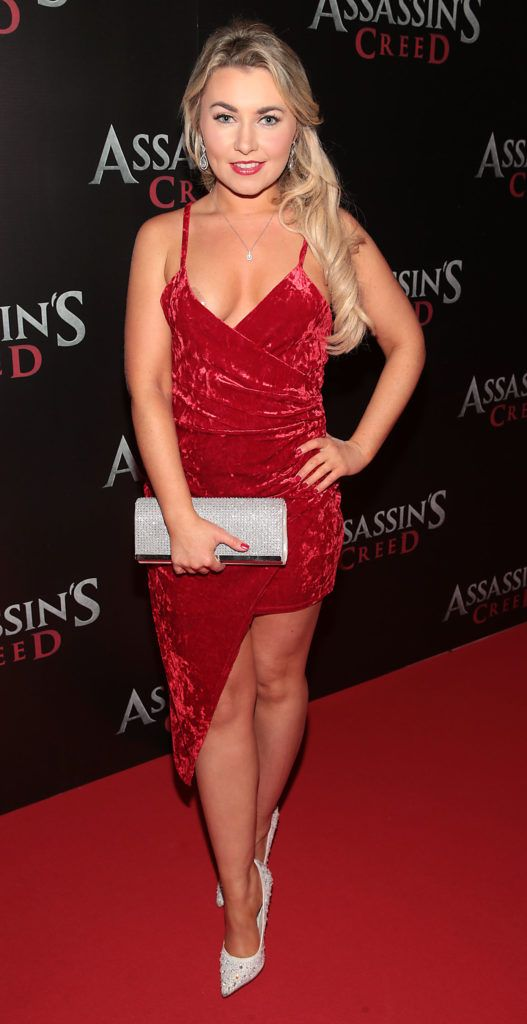 Judy Fitzgerald pictured at the special preview screening of Assassin's Creed at the Savoy Cinema Dublin (Picture Brian McEvoy).