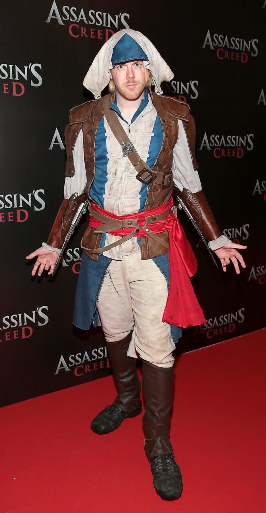 Stephen Lynch pictured at the special preview screening of Assassin's Creed at the Savoy Cinema Dublin (Picture Brian McEvoy).