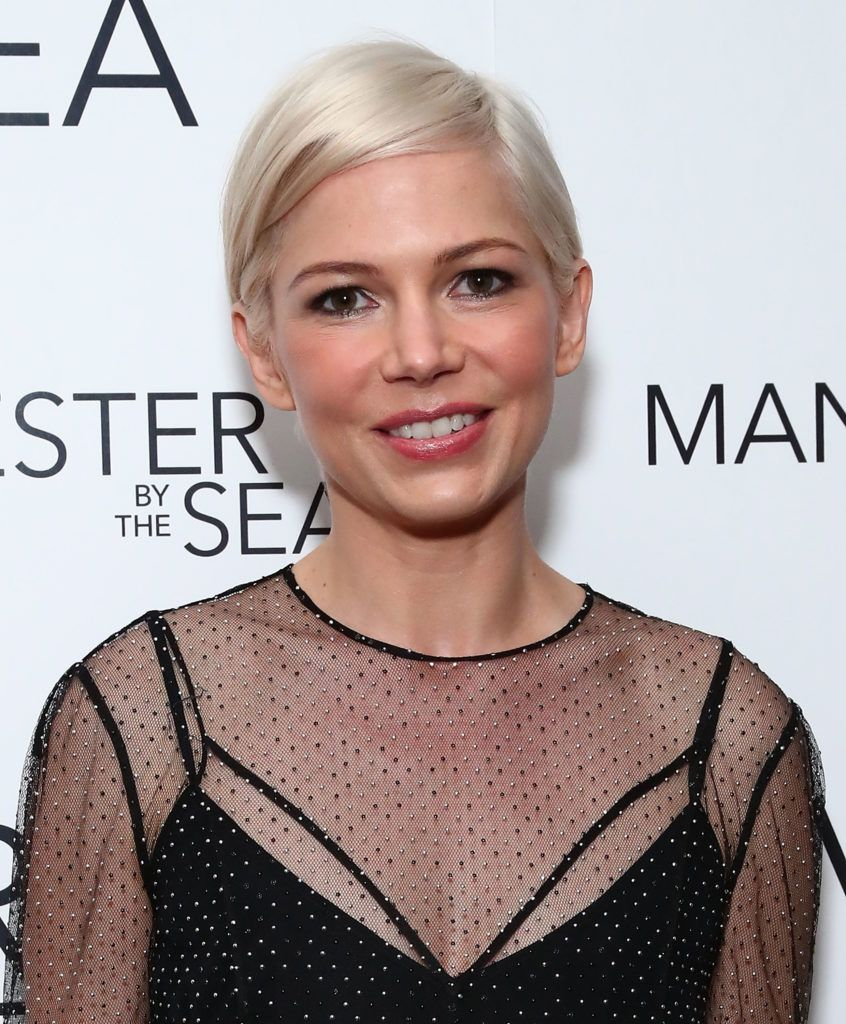 "Michelle Williams attends Louis Vuitton presents A Special Screening Of ""Manchester By The Sea"" at Crosby Street Hotel on December 18, 2016 in New York City.  (Photo by Astrid Stawiarz/Getty Images for Louis Vuitton)"