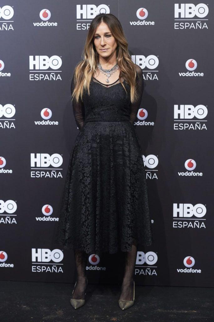 Sarah Jessica Parker at the HBO Spain Presentation - Premiere at Florida Retiro on 17 Dec 2016 (Photo by Sean Thorton/WENN.com)