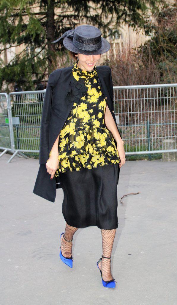 Paris Fashion Week Autumn/Winter 2018/2019 - Rochas - Outside Arrivals  Featuring: Na Young Kim Where: Paris, France When: 28 Feb 2018 Credit: WENN.com