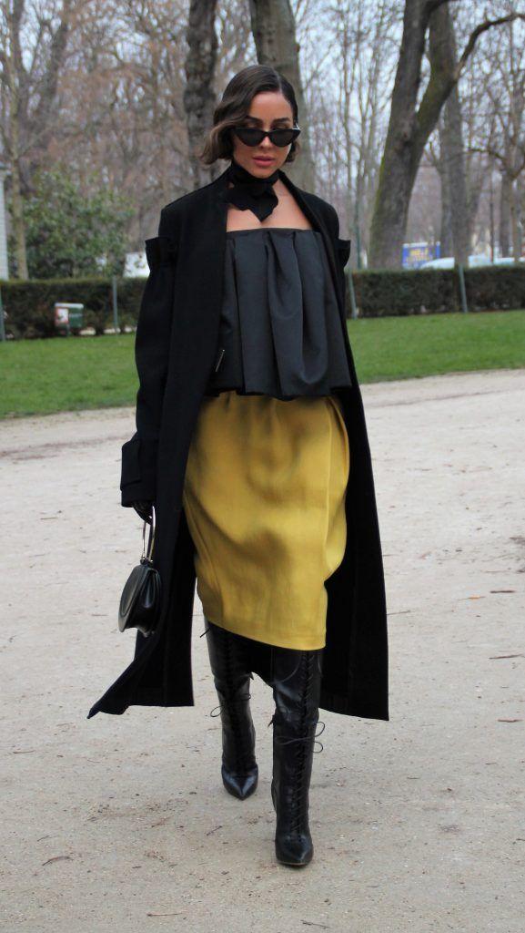 Paris Fashion Week Autumn/Winter 2018/2019 - Rochas - Outside Arrivals  Featuring: Olivia Culpo Where: Paris, France When: 28 Feb 2018 Credit: WENN.com