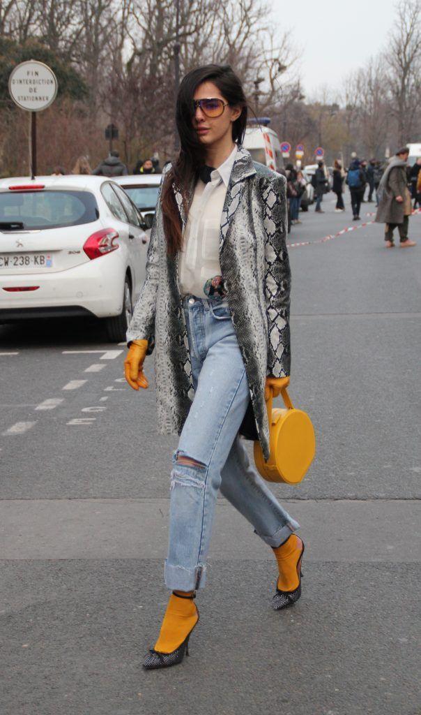 Paris Fashion Week Autumn/Winter 2018/2019 - Rochas - Outside Arrivals  Featuring: Doina Where: Paris, France When: 28 Feb 2018 Credit: WENN.com