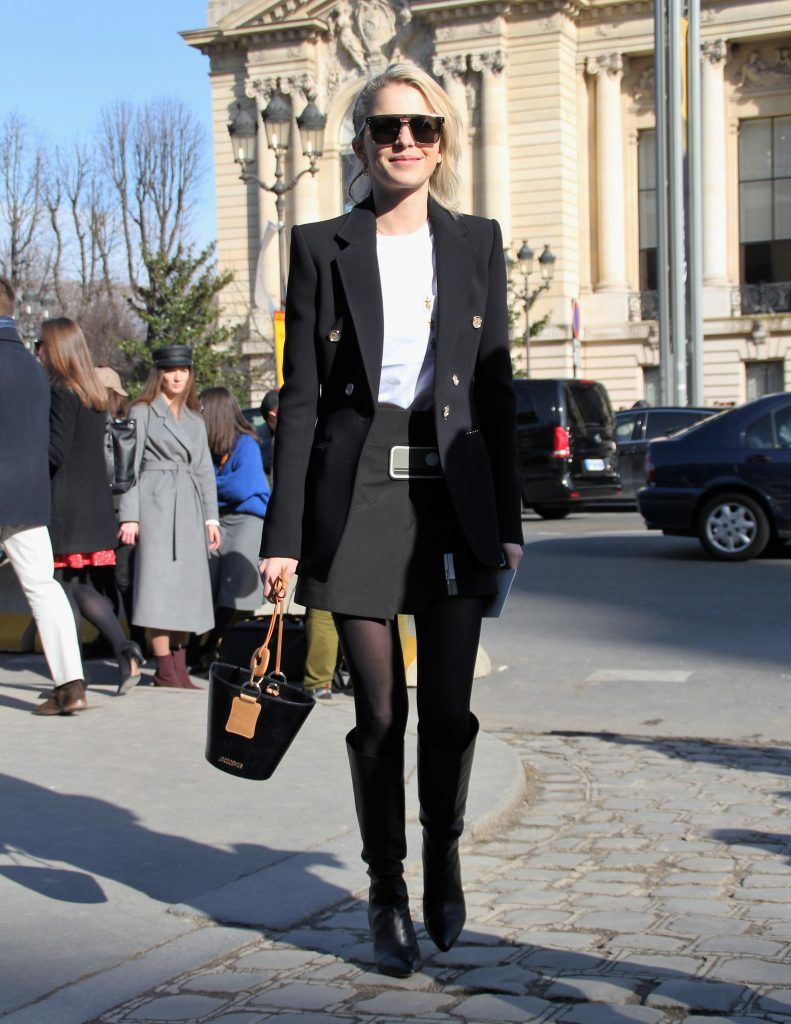 Paris Fashion Week Autumn/Winter 2018/2019 - Elie Saab - Departures  Featuring: Carolina Daur Where: Paris, France When: 03 Mar 2018 Credit: WENN.com