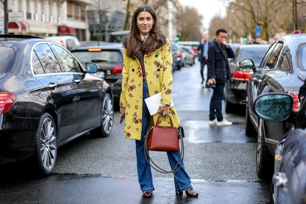 Paris Fashion Week Street style after the Sacai Fall/Winter 2018 Show.  Featuring: Ulyana Boyko Where: Paris, France When: 05 Mar 2018 Credit: Brian Dowling/WENN.com