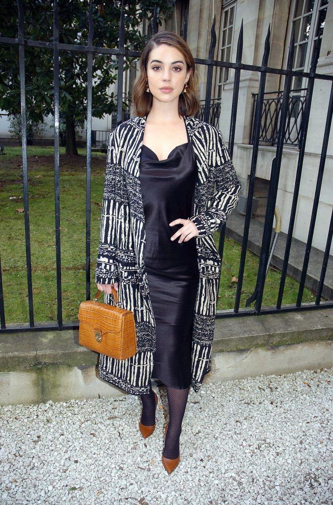 Paris Fashion Week Autumn/Winter 2018/2019 - Rahul Mishra - Outside Arrivals  Featuring: Adelaide Kane Where: Paris, France When: 03 Mar 2018 Credit: WENN.com  **Not available for publication in France, Belgium, Spain, Italy**