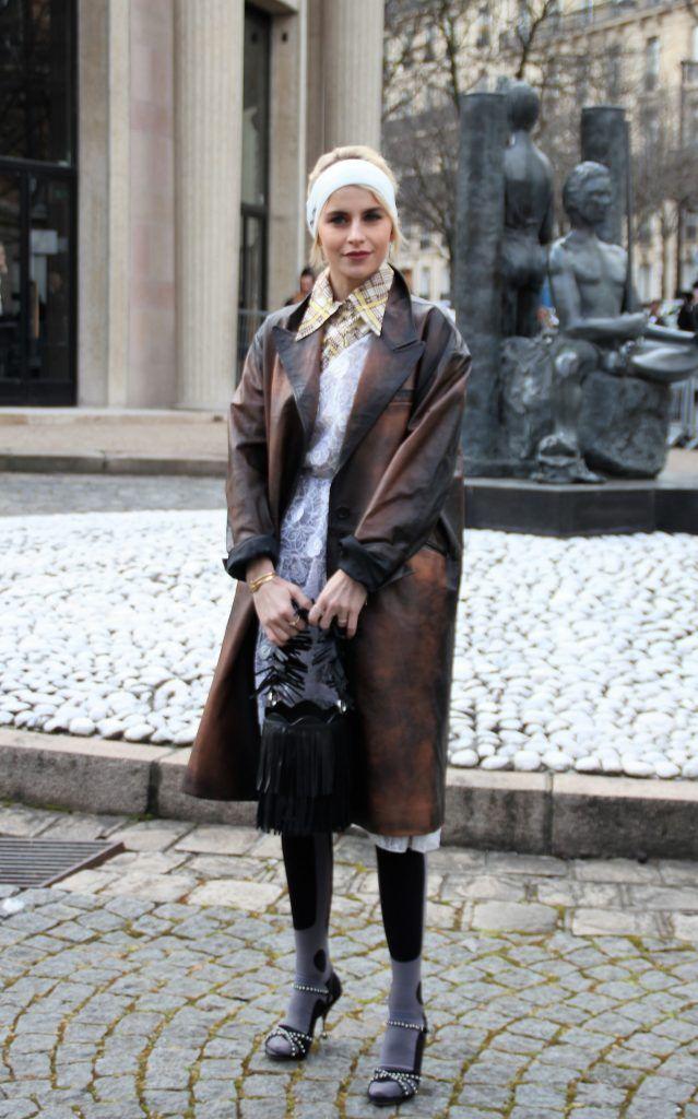 Celebrities attend the presentation of Miu Miu during Paris Fashion Week Autumn/Winter 2018/2019  Featuring: Caro Daur Where: Paris, France When: 06 Mar 2018 Credit: WENN.com