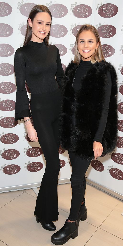 Eabha Donoghue and Kate Lawless pictured celebrating 3 years of Elle No 5 Beauty in Celbridge, Co Kildare. Photo by Brian McEvoy