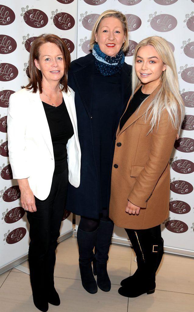 Rosana Petticrew, EileenWard and Ellen Petticrew pictured celebrating 3 years of Elle No 5 Beauty in Celbridge, Co Kildare. Photo by Brian McEvoy