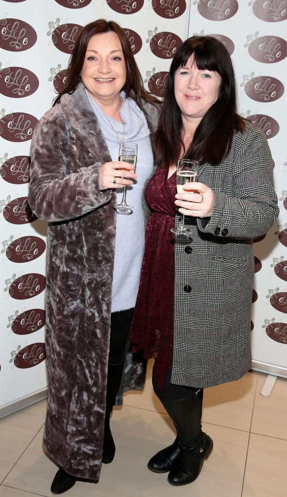Anita Kelly and Una Williams pictured celebrating 3 years of Elle No 5 Beauty in Celbridge, Co Kildare. Photo by Brian McEvoy