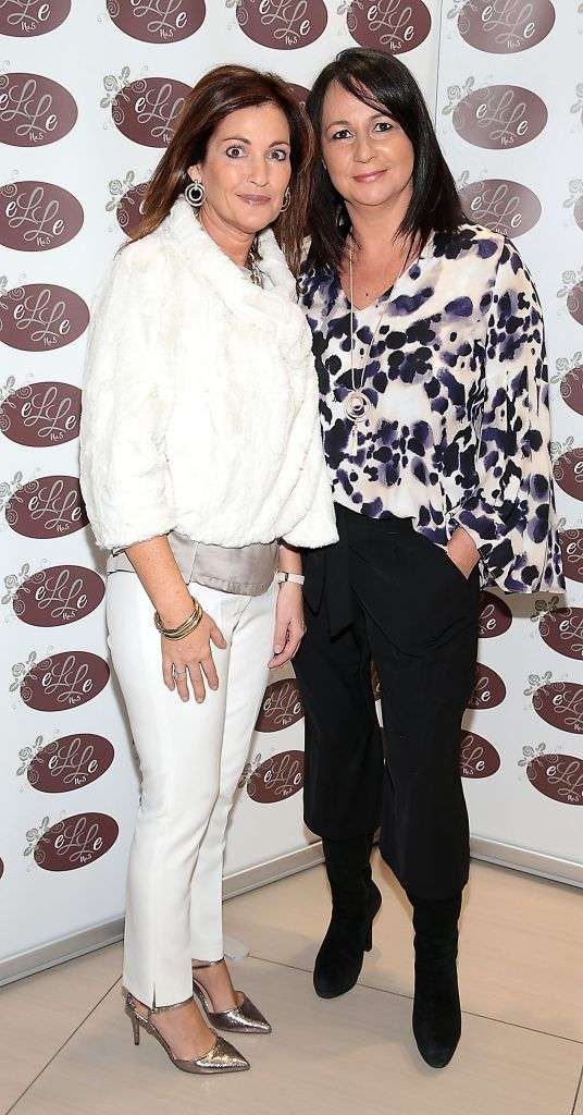 Mandy Smith and Tanya Carrick pictured celebrating 3 years of Elle No 5 Beauty in Celbridge, Co Kildare. Photo by Brian McEvoy