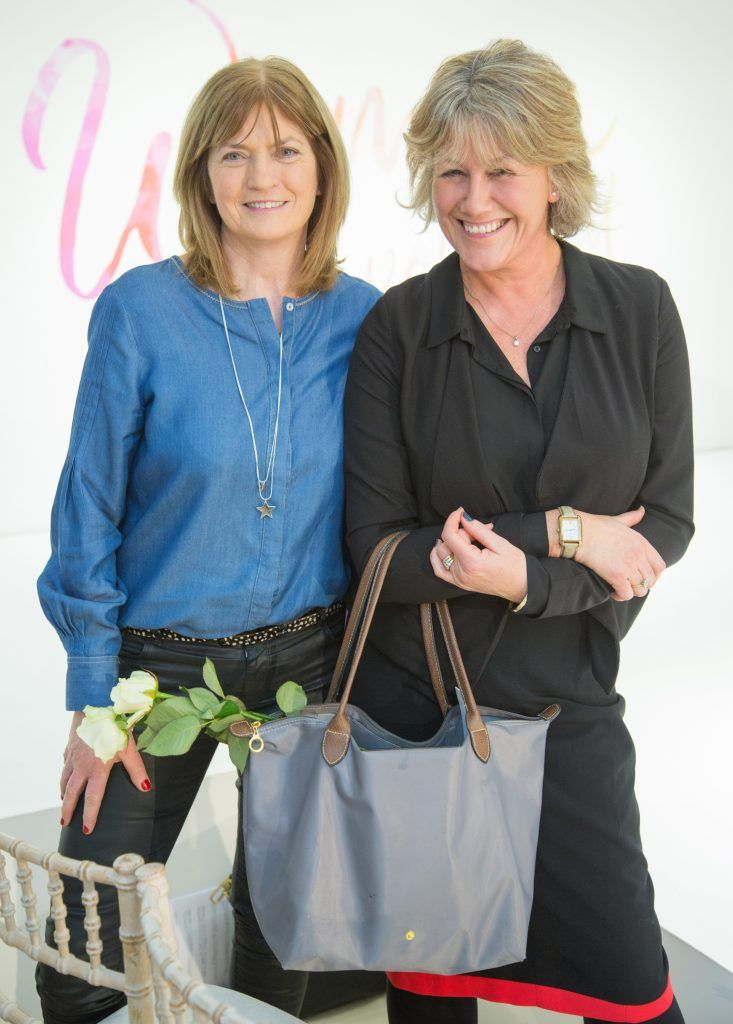 Angela O'Sullivan & Karen O'Sulllivan pictured attending the Arnotts Women Empowered Event. Photo: Anthony Woods