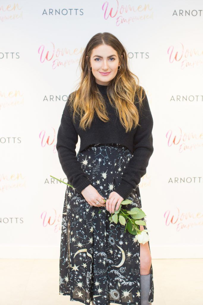 Courtney Smith pictured attending the Arnotts Women Empowered Event. Photo: Anthony Woods