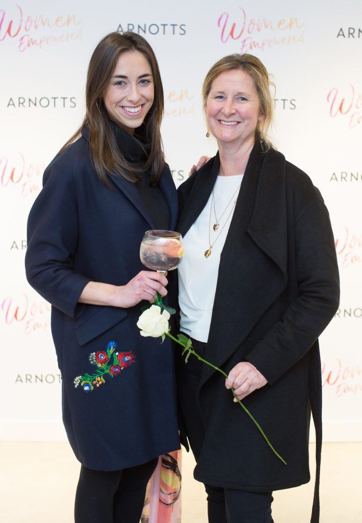 Amy & Odette O'Dea pictured attending the Arnotts Women Empowered Event. Photo: Anthony Woods