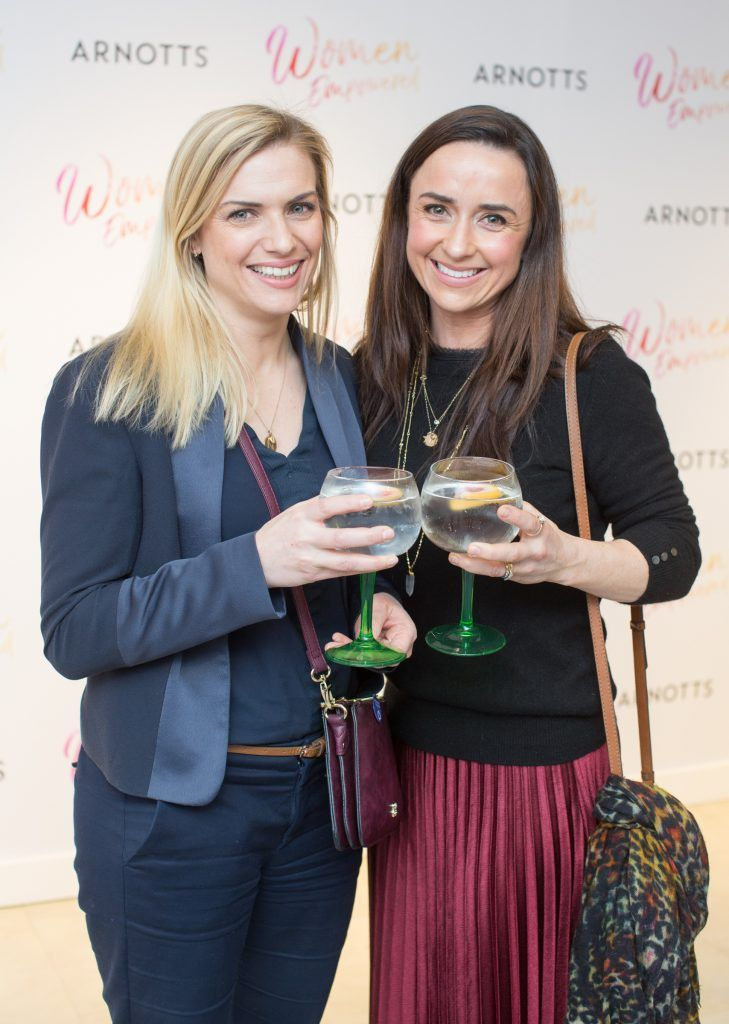 Wendy Hobson & Hilda Hamilton pictured attending the Arnotts Women Empowered Event. Photo: Anthony Woods