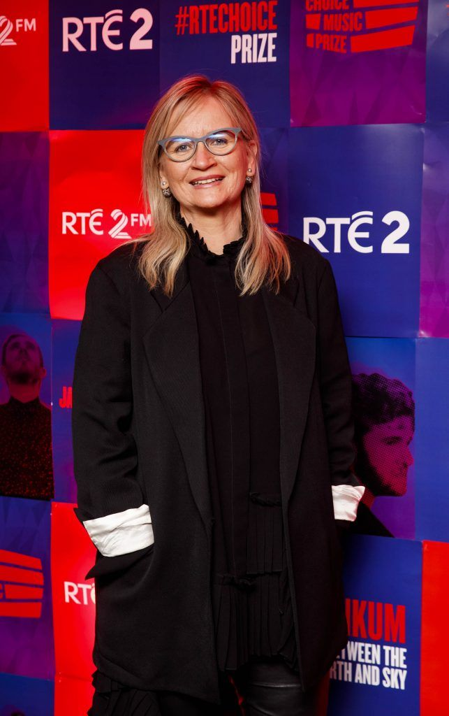 Dee Forbes Director General RTÉ pictured at the RTE Choice Music Prize at Vicar Street, March 8th 2018. Picture by Andres Poveda