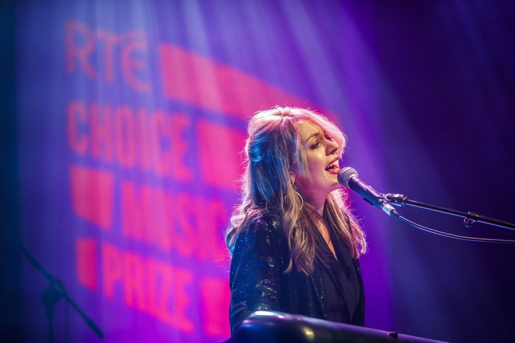 Marlene Enright pictured performing at the RTE Choice Music Prize at Vicar Street, March 8th 2018. Picture by Andres Poveda
