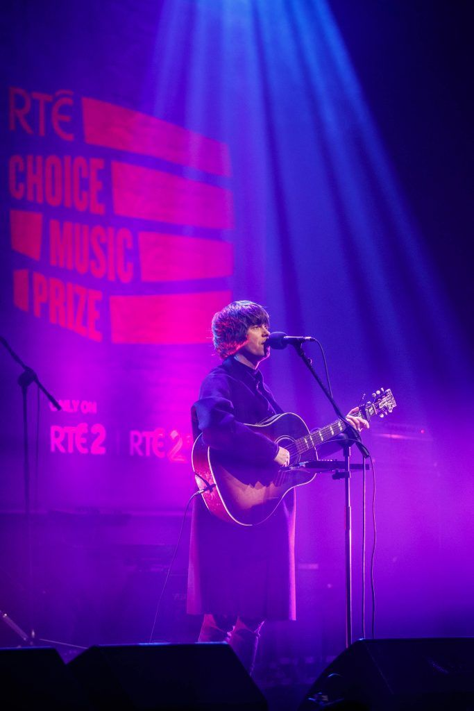 Fionn Regan pictured performing at the RTE Choice Music Prize at Vicar Street, March 8th 2018. Picture by Andres Poveda
