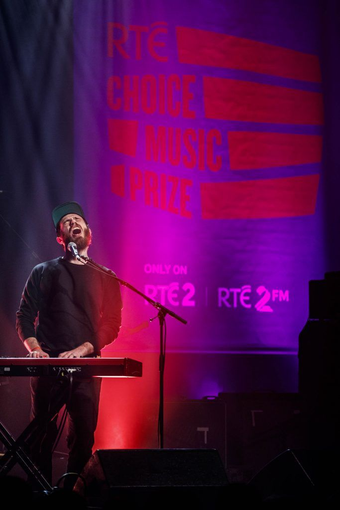 James Vincent McMorrow pictured performing at the RTE Choice Music Prize at Vicar Street, March 8th 2018. Picture by Andres Poveda