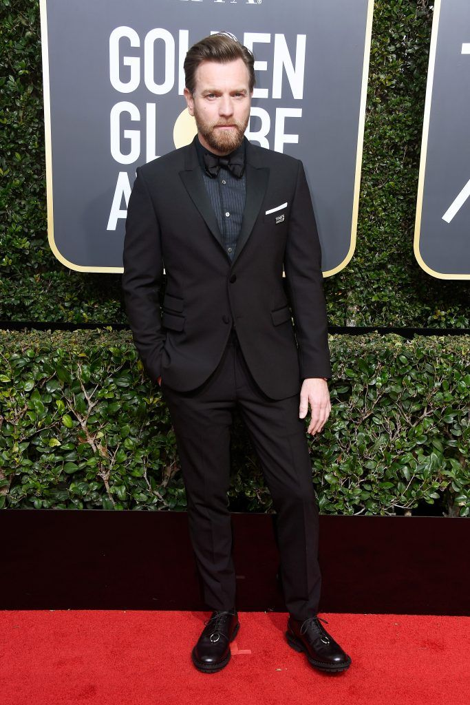 BEVERLY HILLS, CA - JANUARY 07:  Actor Ewan McGregor attends The 75th Annual Golden Globe Awards at The Beverly Hilton Hotel on January 7, 2018 in Beverly Hills, California.  (Photo by Frazer Harrison/Getty Images)