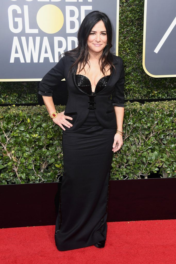 BEVERLY HILLS, CA - JANUARY 07:  Pamela Adlon attends The 75th Annual Golden Globe Awards at The Beverly Hilton Hotel on January 7, 2018 in Beverly Hills, California.  (Photo by Frazer Harrison/Getty Images)