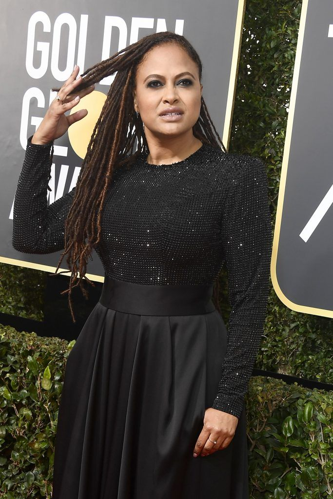BEVERLY HILLS, CA - JANUARY 07:  Ava DuVernay attends The 75th Annual Golden Globe Awards at The Beverly Hilton Hotel on January 7, 2018 in Beverly Hills, California.  (Photo by Frazer Harrison/Getty Images)
