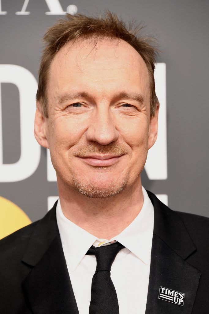 BEVERLY HILLS, CA - JANUARY 07:  Actor David Thewlis attends The 75th Annual Golden Globe Awards at The Beverly Hilton Hotel on January 7, 2018 in Beverly Hills, California.  (Photo by Frazer Harrison/Getty Images)