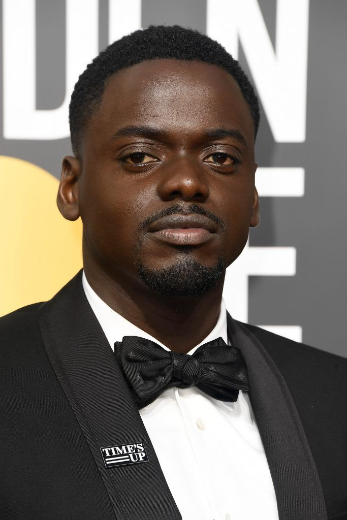 BEVERLY HILLS, CA - JANUARY 07:  Actor Daniel Kaluuya attends The 75th Annual Golden Globe Awards at The Beverly Hilton Hotel on January 7, 2018 in Beverly Hills, California.  (Photo by Frazer Harrison/Getty Images)