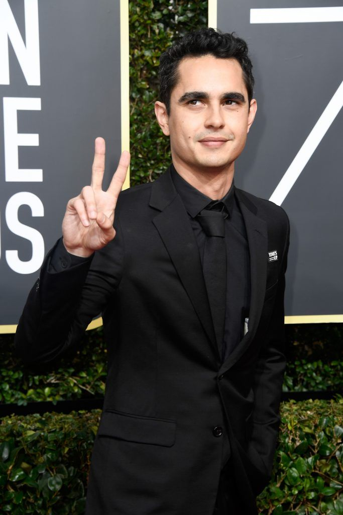 BEVERLY HILLS, CA - JANUARY 07:  Actor Max Minghella attends The 75th Annual Golden Globe Awards at The Beverly Hilton Hotel on January 7, 2018 in Beverly Hills, California.  (Photo by Frazer Harrison/Getty Images)