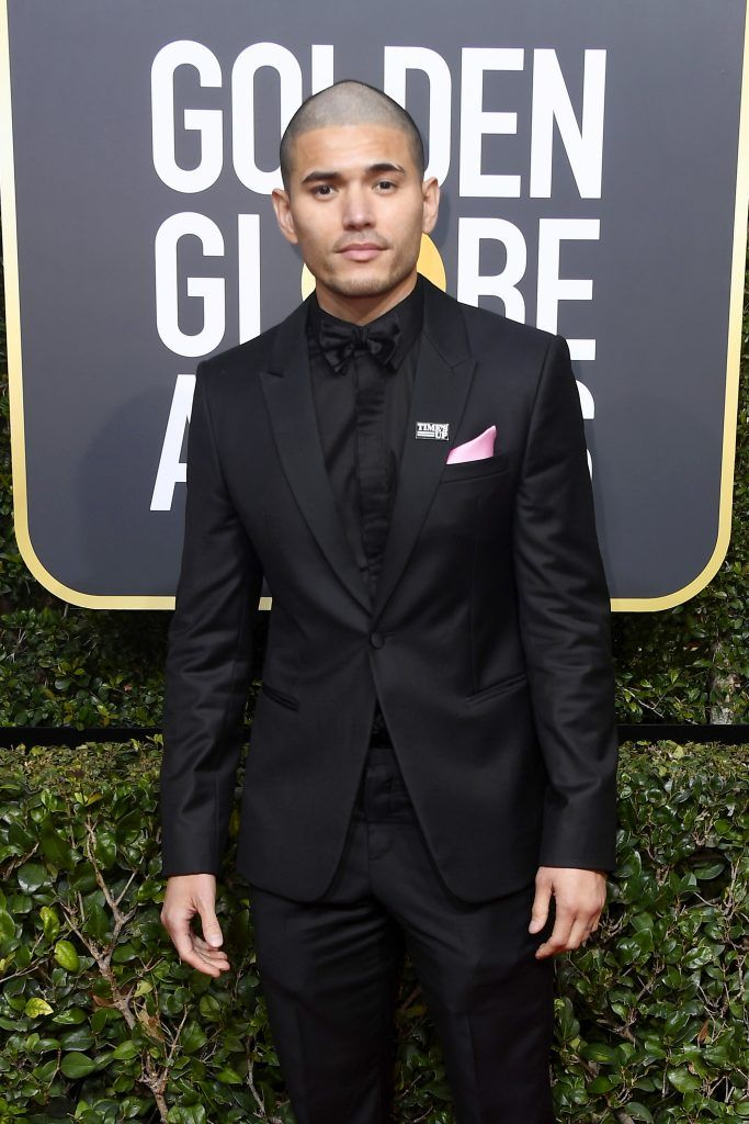 BEVERLY HILLS, CA - JANUARY 07:  Actor Miguel Gomez attends The 75th Annual Golden Globe Awards at The Beverly Hilton Hotel on January 7, 2018 in Beverly Hills, California.  (Photo by Frazer Harrison/Getty Images)