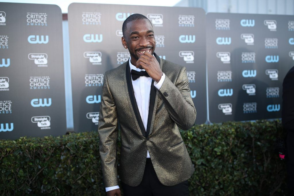 SANTA MONICA, CA - JANUARY 11:  Actor Jay Pharoah attends The 23rd Annual Critics' Choice Awards at Barker Hangar on January 11, 2018 in Santa Monica, California.  (Photo by Christopher Polk/Getty Images for The Critics' Choice Awards  )
