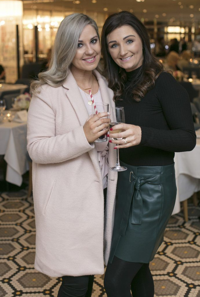 Karen Reeves & Marie Baker pictured at The Restaurant at Brown Thomas where M.A.C Cosmetics celebrated 20 years of colour, creativity and culture at Brown Thomas Dublin. Photo: Anthony Woods.