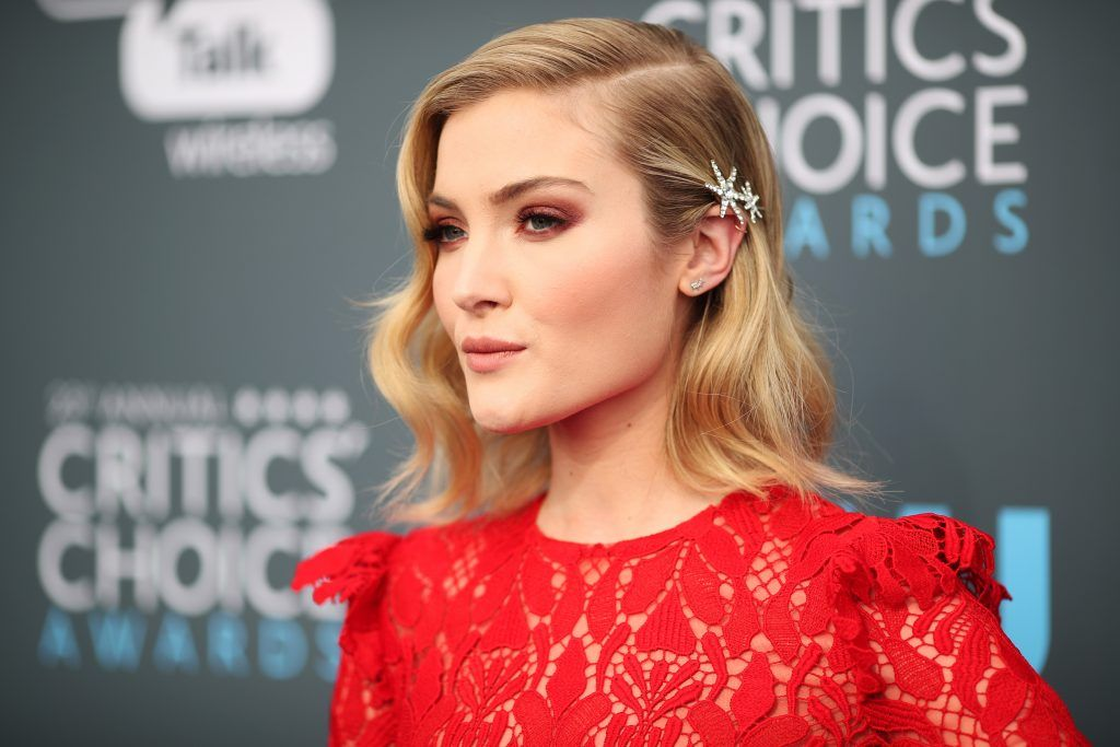 SANTA MONICA, CA - JANUARY 11:  Actor Skyler Samuels attends The 23rd Annual Critics' Choice Awards at Barker Hangar on January 11, 2018 in Santa Monica, California.  (Photo by Christopher Polk/Getty Images for The Critics' Choice Awards  )