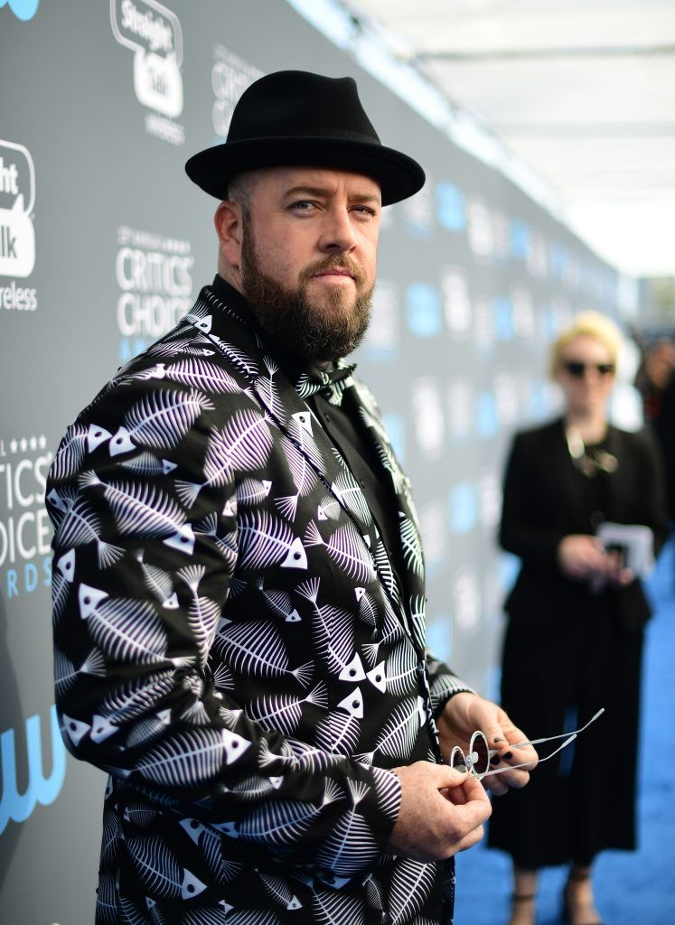 SANTA MONICA, CA - JANUARY 11:  Actor Chris Sullivan attends The 23rd Annual Critics' Choice Awards at Barker Hangar on January 11, 2018 in Santa Monica, California.  (Photo by Matt Winkelmeyer/Getty Images for The Critics' Choice Awards  )