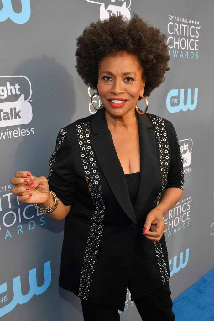 SANTA MONICA, CA - JANUARY 11:  Actor Jenifer Lewis attends The 23rd Annual Critics' Choice Awards at Barker Hangar on January 11, 2018 in Santa Monica, California.  (Photo by Matt Winkelmeyer/Getty Images for The Critics' Choice Awards  )