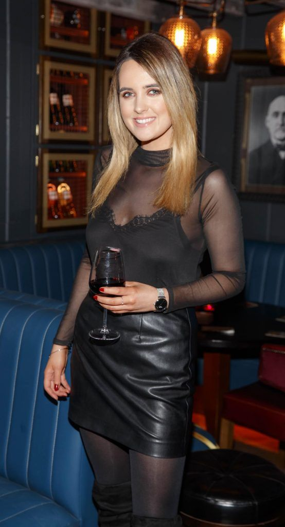 Lorna Duffy at the relaunch of the lounge bar and Boss Crokers snug bar at Sandyford House in Sandyford Village, Dublin 18 (1st February 2018). Picture by Andres Poveda