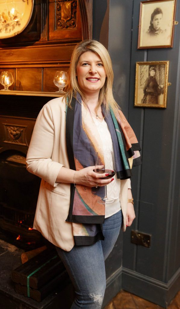 Emer Duffy at the relaunch of the lounge bar and Boss Crokers snug bar at Sandyford House in Sandyford Village, Dublin 18 (1st February 2018). Picture by Andres Poveda