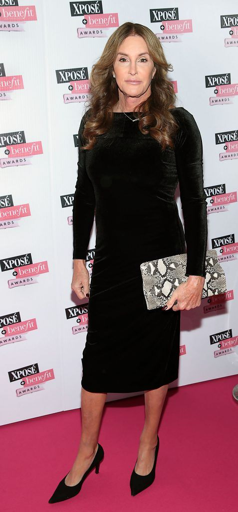 Caitlyn Jenner at the inaugural Xpose Benefit Awards that took place in The Mansion House, Dublin to celebrate the best in fashion and entertainment in Ireland. Picture: Brian McEvoy