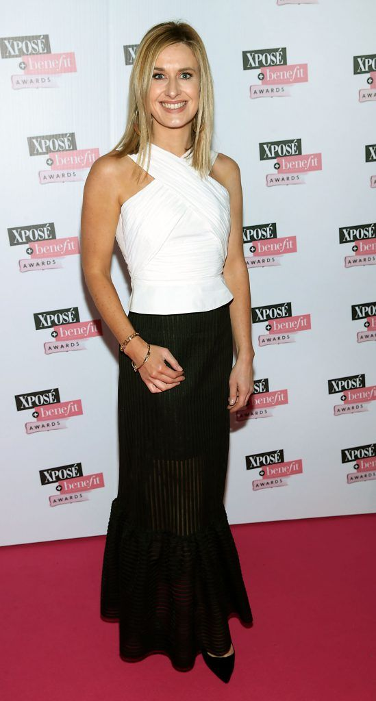 Roxanne Parker at the inaugural Xpose Benefit Awards that took place in The Mansion House, Dublin to celebrate the best in fashion and entertainment in Ireland. Picture: Brian McEvoy