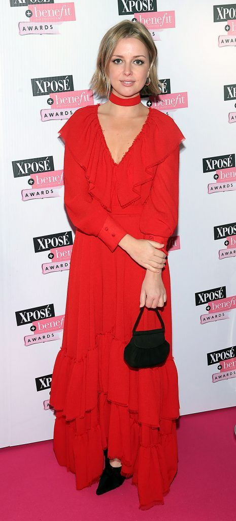 Ruth Kearney at the inaugural Xpose Benefit Awards that took place in The Mansion House, Dublin to celebrate the best in fashion and entertainment in Ireland. Picture: Brian McEvoy