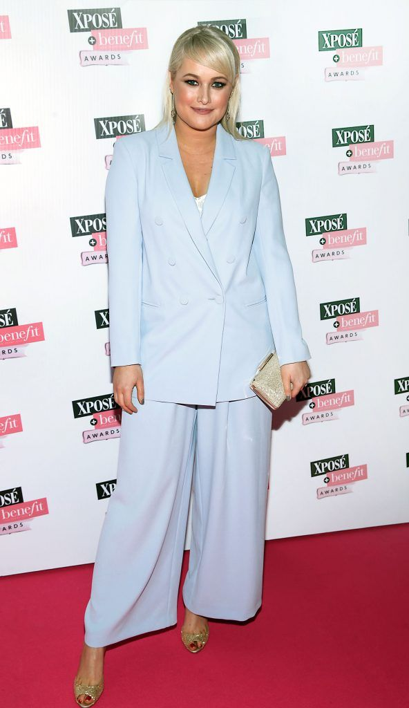 Lorna Weightman at the inaugural Xpose Benefit Awards that took place in The Mansion House, Dublin to celebrate the best in fashion and entertainment in Ireland. Picture: Brian McEvoy