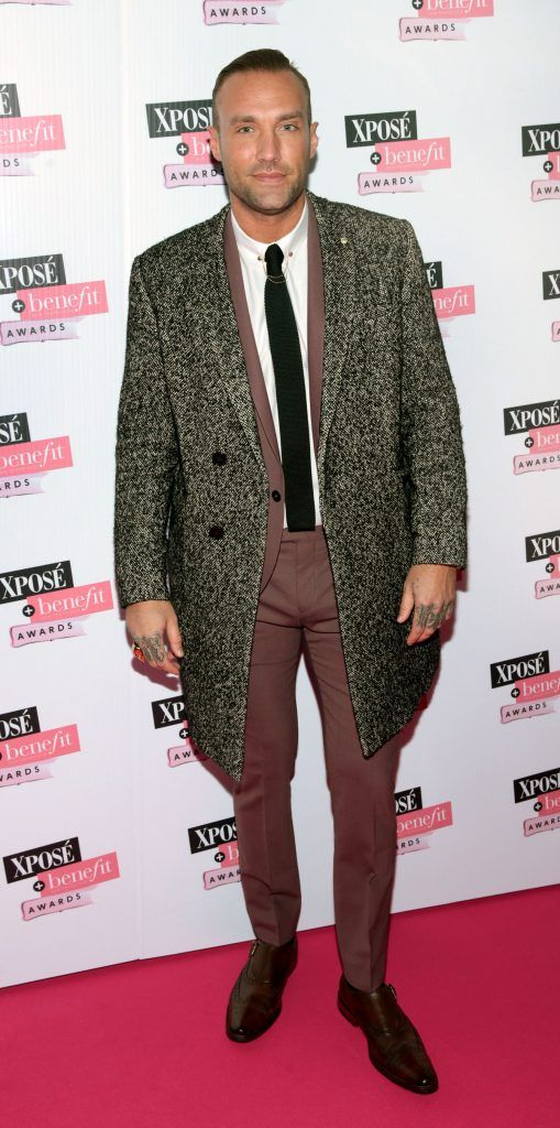 Calum Best at the inaugural Xpose Benefit Awards that took place in The Mansion House, Dublin to celebrate the best in fashion and entertainment in Ireland. Picture: Brian McEvoy
