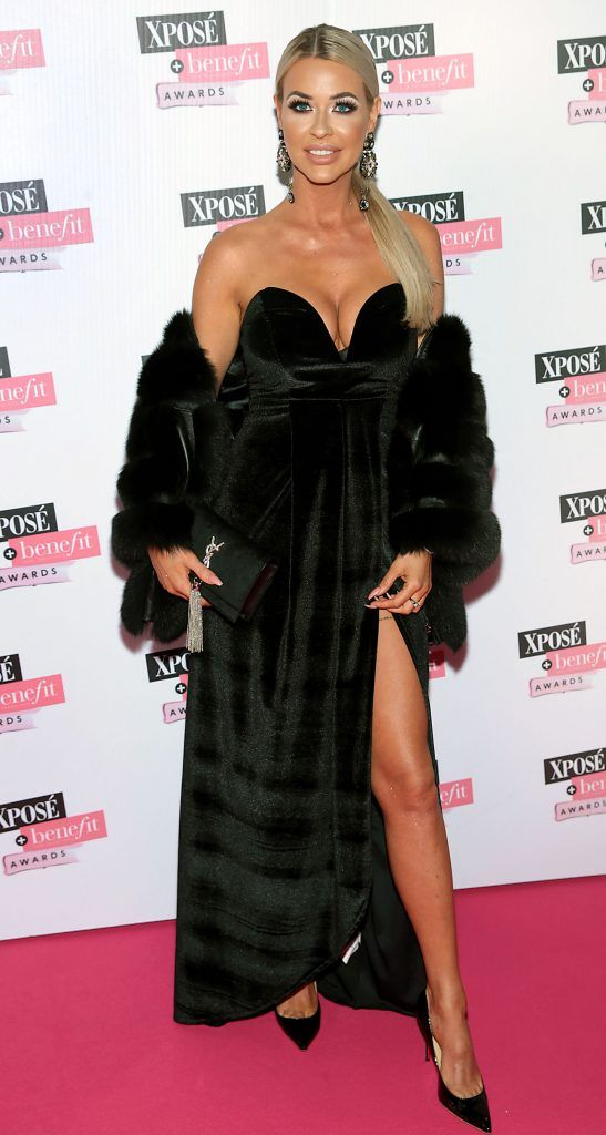 Lena Morkuniene at the inaugural Xpose Benefit Awards that took place in The Mansion House, Dublin to celebrate the best in fashion and entertainment in Ireland. Picture: Brian McEvoy