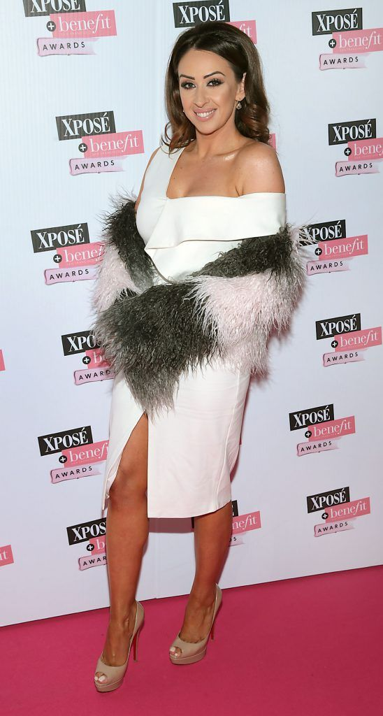 Michelle Regazzoli Stone  at the inaugural Xpose Benefit Awards that took place in The Mansion House, Dublin to celebrate the best in fashion and entertainment in Ireland. Picture: Brian McEvoy