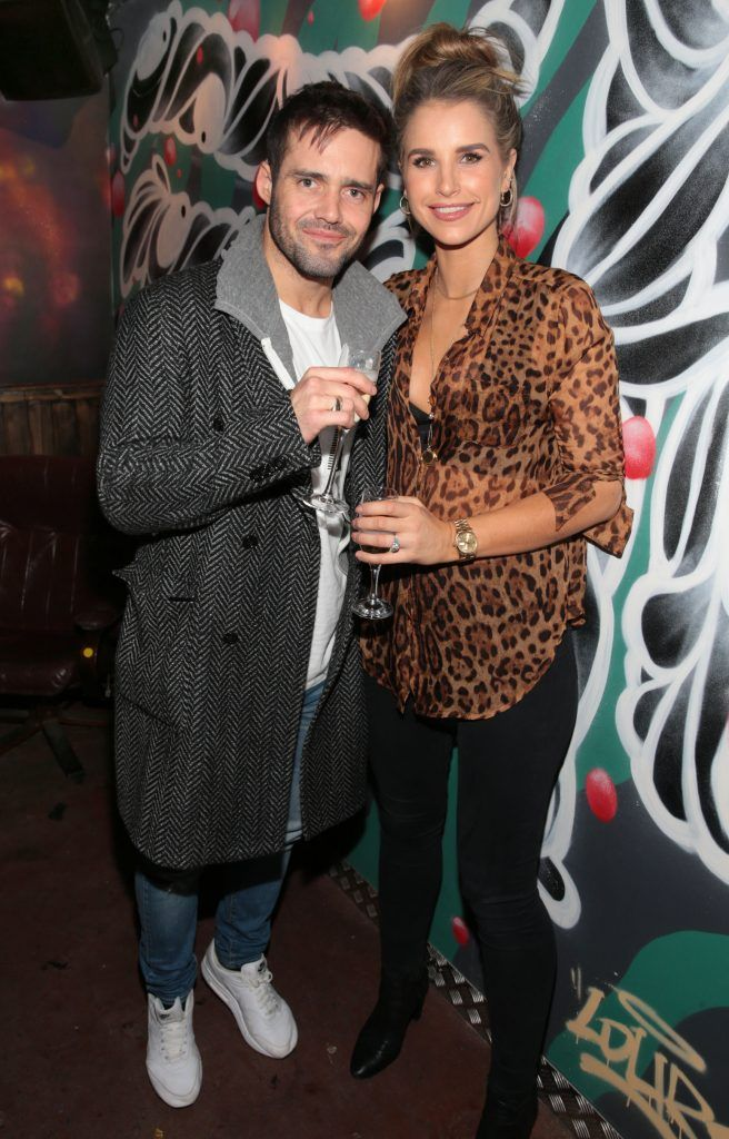 R.I.O.T official opening with Vogue Williams and Spencer Matthews