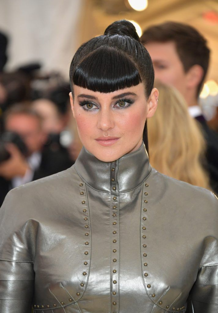 NEW YORK, NY - MAY 07:  Shailene Woodley attends the Heavenly Bodies: Fashion & The Catholic Imagination Costume Institute Gala at The Metropolitan Museum of Art on May 7, 2018 in New York City.  (Photo by Neilson Barnard/Getty Images)